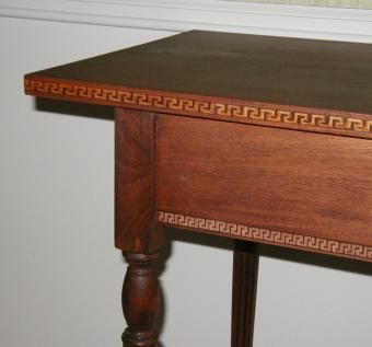 Custom Made Federal Style Mahogany Hall Table