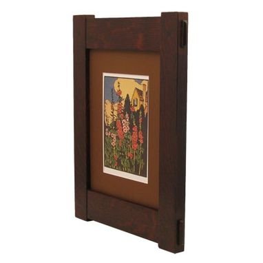 Custom Made Craftsman Style Through Tenon Frame