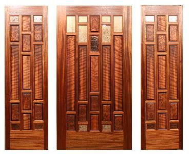 Custom Made The Camarillo Entry Door And Sidelights