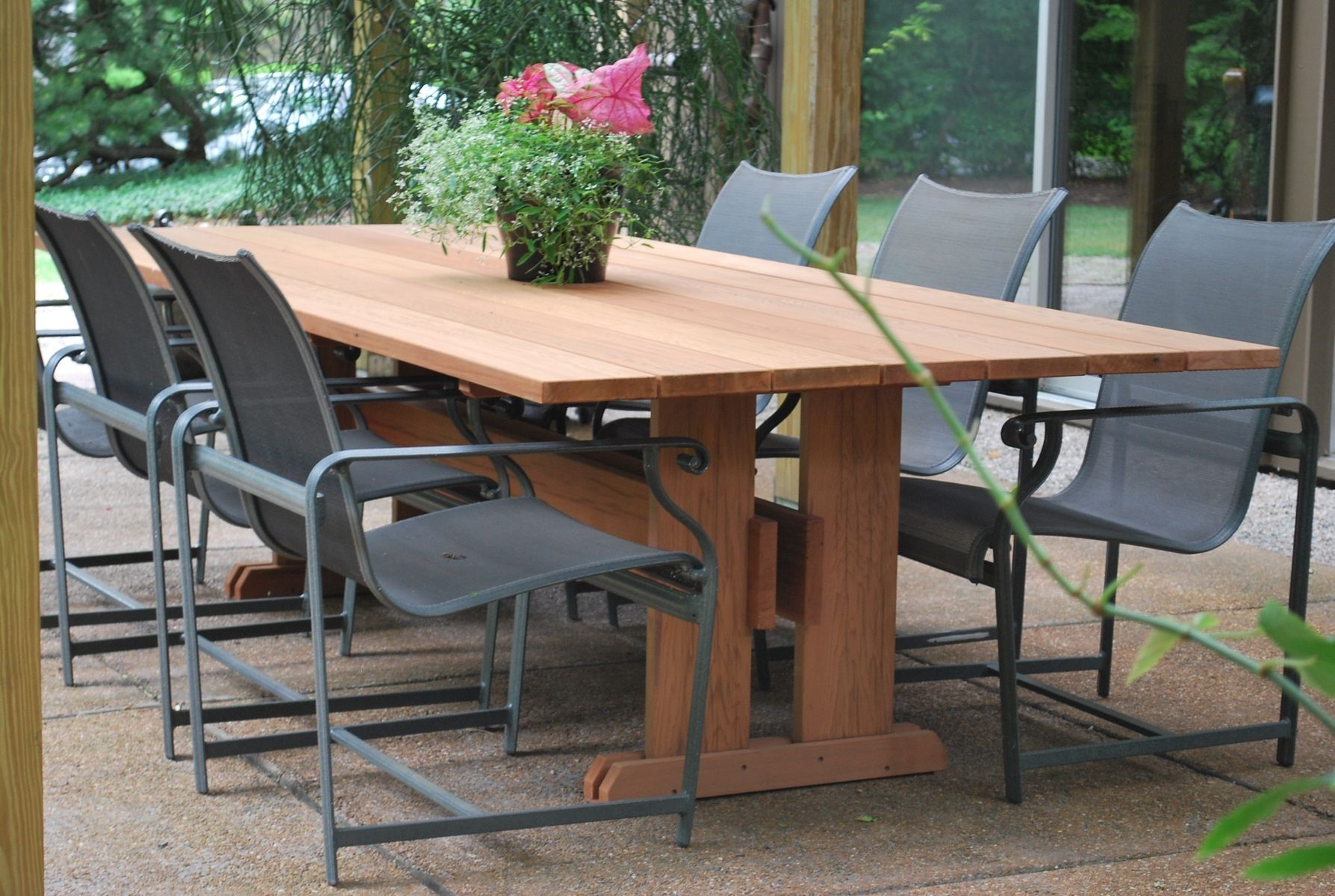 handmade outdoor table by mark wilson furniture custommade com
