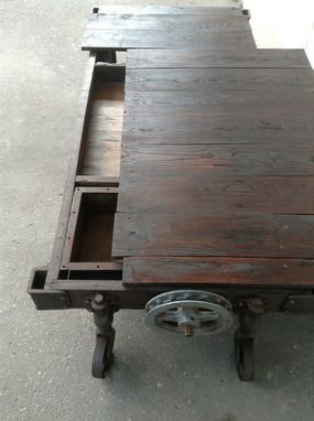 Custom Made Custom Industrial Coffee Table