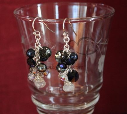 Custom Made Moonlight Serenade Earrings