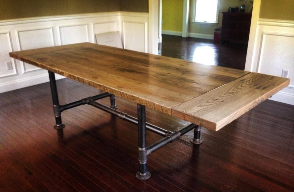 Handmade Kitchen Table by Reclaimed Art | CustomMade.com