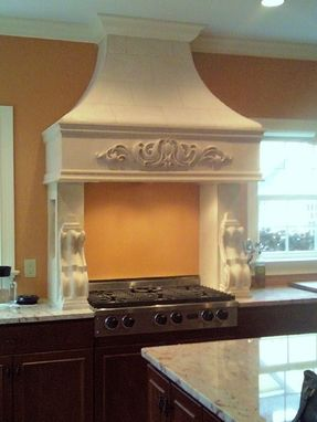 Custom Made Stone Hoods Stone Mantels