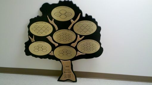 Custom Made Donation Tree