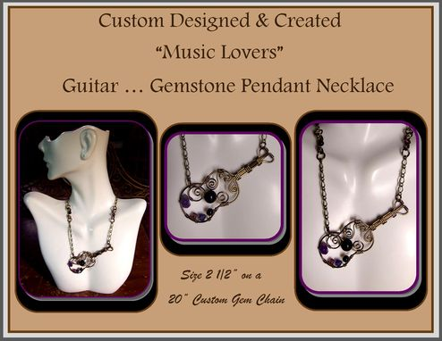 Custom Made Music Jewelry,Music Lovers,Drummer Gift,Guitar,Necklace Guitar Pick,,Guitar Jewelry,Mens Jewelry