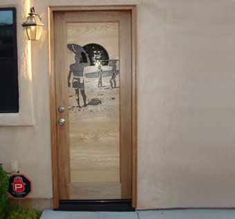 Custom Made 'Endless Summer' Entrance Door