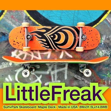 Custom Made Complete Little Freak Parf+Surf Skateboards With 3-Year Deck Replacement Warranty
