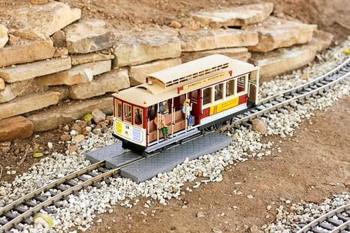 Custom Made Garden Railroad