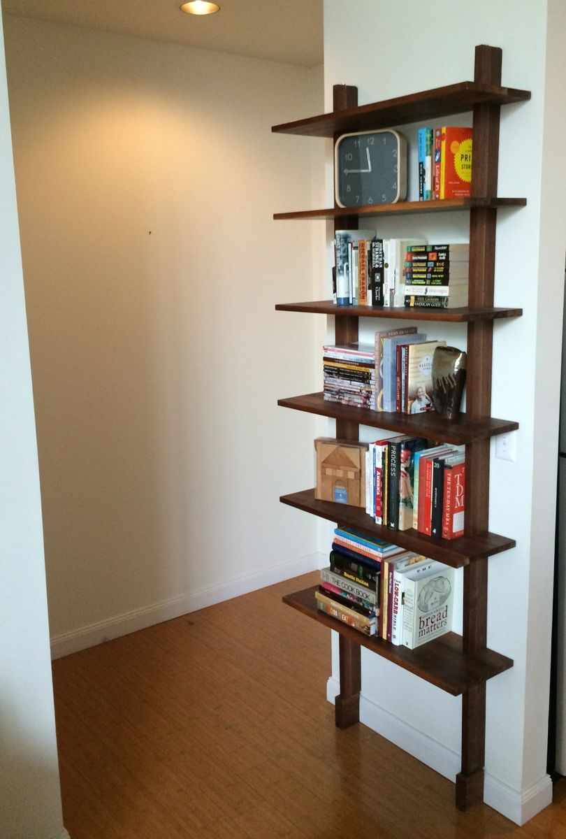 Buy A Handmade Minimalist Bookshelf Made To Order From Jaynes