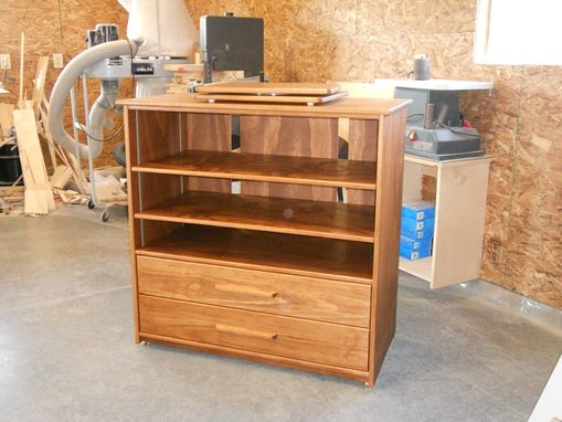 Custom Made Pine Entertainment Center