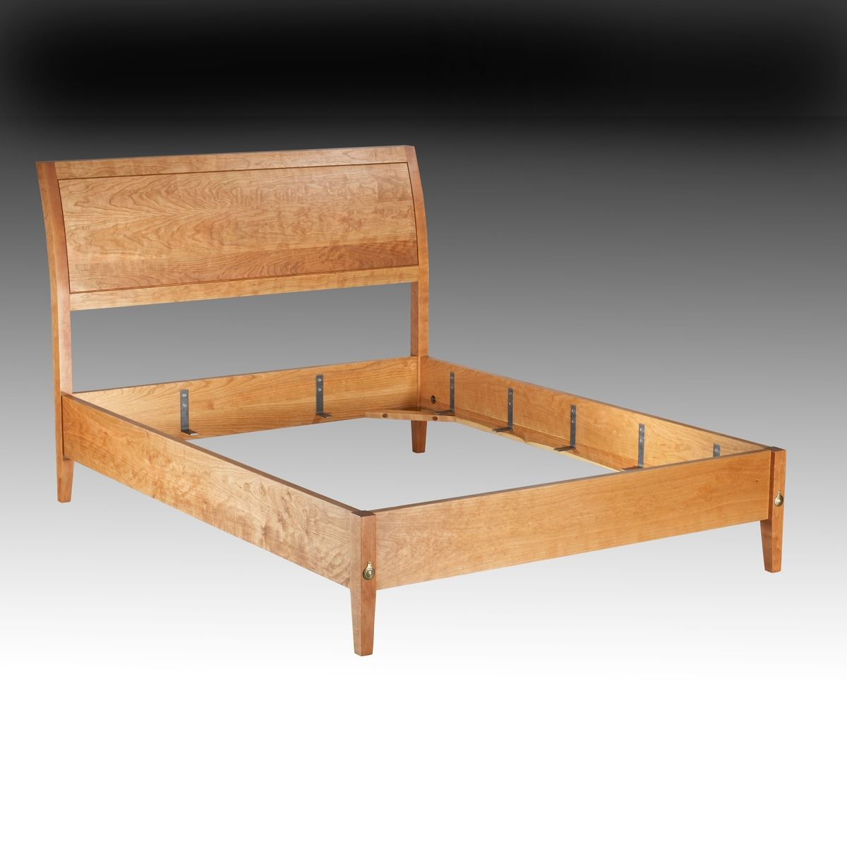 Hand Made Cherry Sleigh Bed By Jg Custom Furniture
