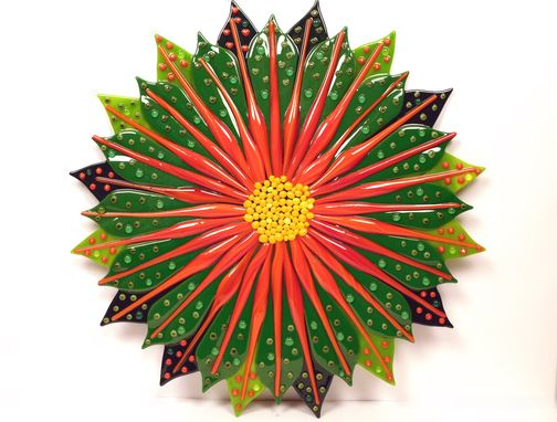 "Custom Made Art Object ""A Fancy Flower"""