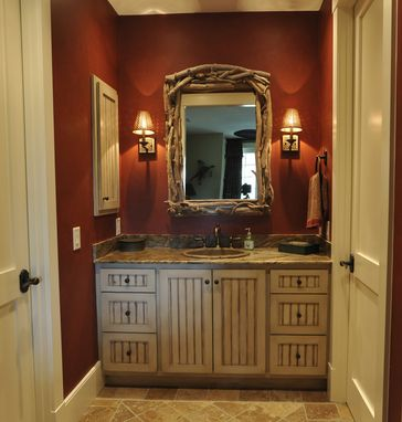Custom Made Bath Vanity