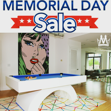 Custom Made Memorial Day Sale Arched Pooltable Sale !!