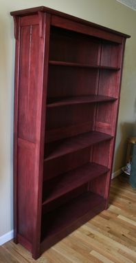 Custom Made Heirloom Bookcase