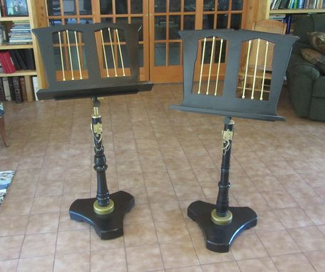Custom Made Moon River Music Stands