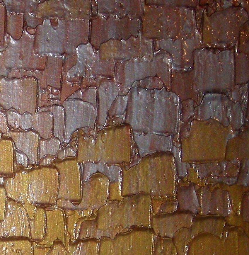 A Hand Made Abstract Painting Gold Silver Original Art Textured Palette Knife Paintings Lafferty 72x30 To Order From Fine