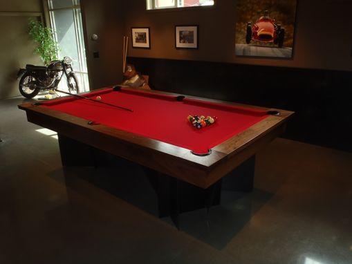 Custom Made Modern Pool Table