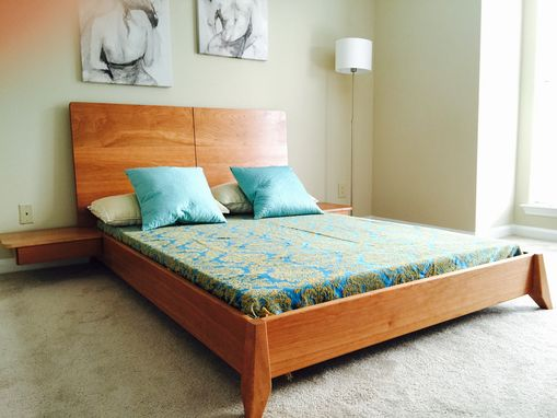 Buy A Hand Made Solid Wood Platform Bed Made To Order