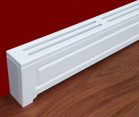 Hand Crafted Custom Baseboard Heater Covers Made To Your