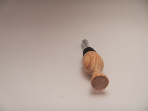 Custom Made Olive Wood Bottle Stopper