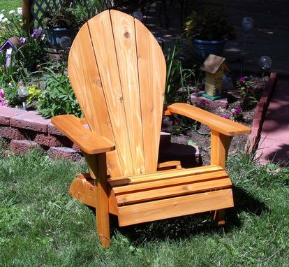Custom Made Adirondack Wingback