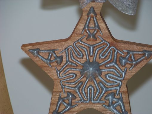 Custom Made Wooden Christmas Ornaments