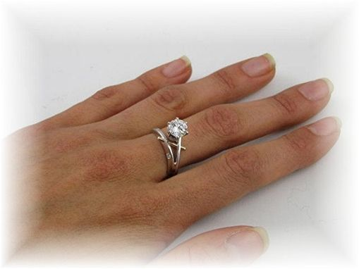 Custom Made Engagement Ring ,,High Fashion Love''