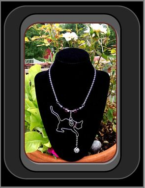 Custom Made Cat Jewelry, Pet Jewelry, Pet Lovers Gift Ideas,Cat Neclace,Pet Loves