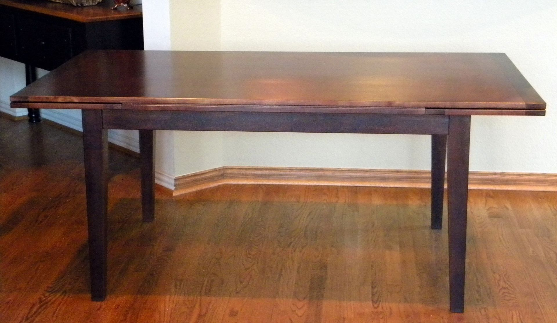 Handmade Dutch Pull Or Draw Leaf Dining Table By North Texas Wood