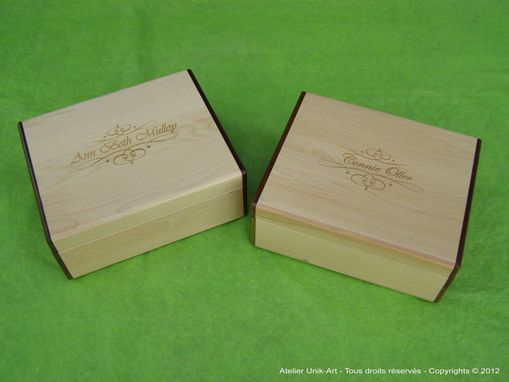 Custom Made Custom Tea Chest