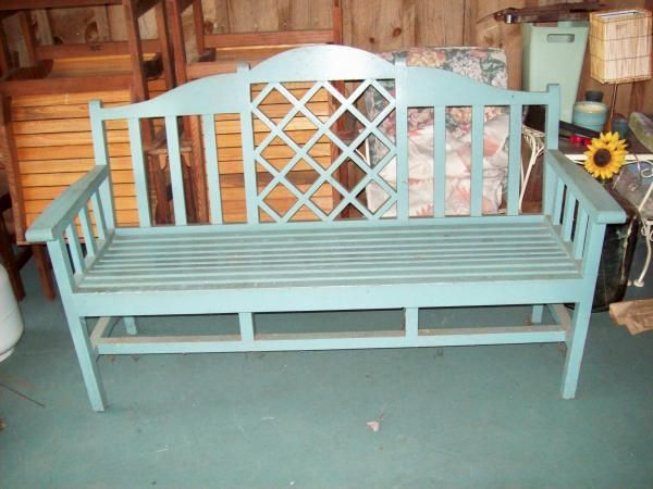 Wondrous Hand Crafted Garden Bench By Carl Larson Custommade Com Bralicious Painted Fabric Chair Ideas Braliciousco