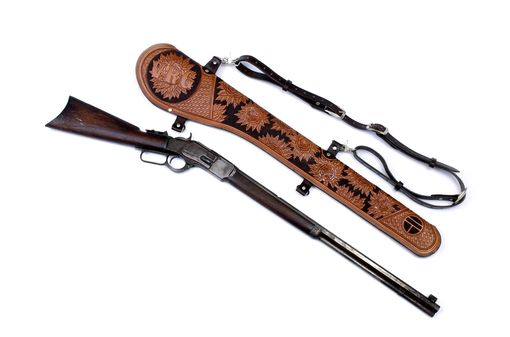 Custom Made 1873 Rifle Scabbard