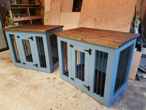 Custom Made M-Xl Single Den Dog Kennel (#1 Easy To Clean)