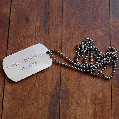 Custom Made For Cheri- Custom Dog Tag