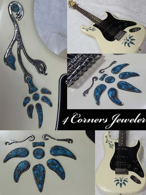 Custom Made Guitar Inlay Job