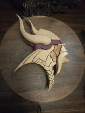 Custom Made Minnesota Viking Logo