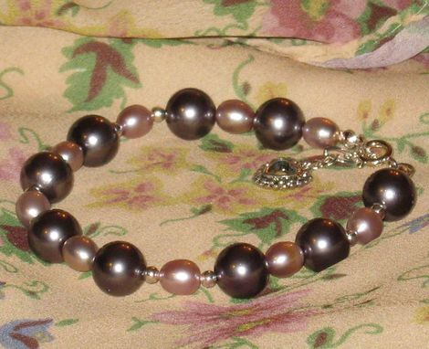Custom Made Wedding Or Special Occasion Crystal Or Pearl Bracelets