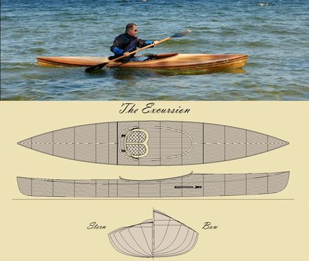 Custom Made 'The Excursion' Kayak Kit