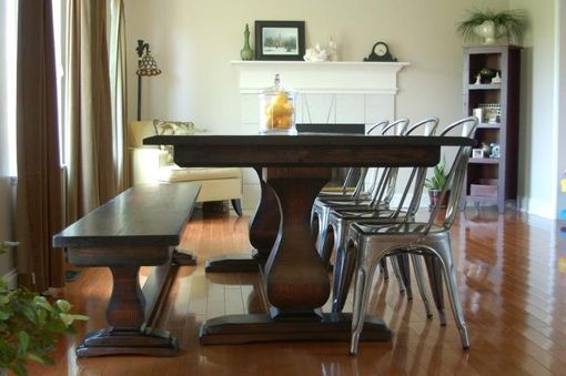 Custom Made Belly Pedestal Table