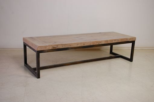Custom Made Reclaimed Oak Coffee Table