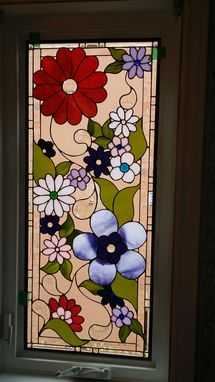 Custom Made Leaded Glass Windows By Glassworks Studio, Canada.