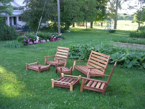 Custom Made Custom Patio Cedar Furniture