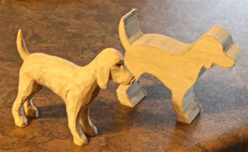 Custom Made Wood Dogs