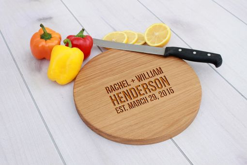 Custom Made Personalized Cutting Board, Engraved Cutting Board,  Wedding Gift – Cbr-Wo-Rachelwilliamhenderson