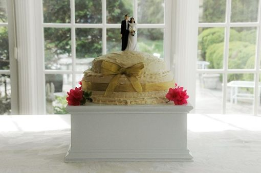 "Custom Made 14"" Wedding Cake Stand"