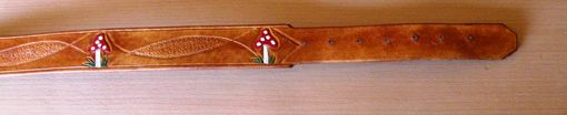 Custom Made Mushroom Belt