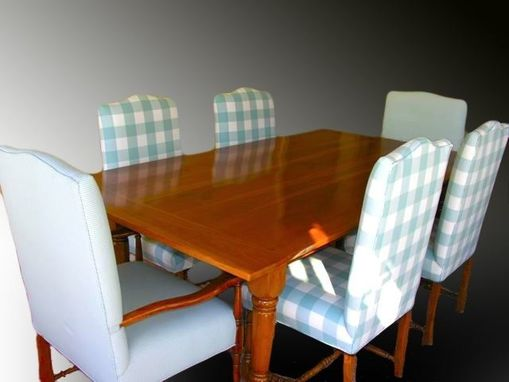 Custom Made Beautiful Cherry Refectory Style Breakfast Room Table And Chairs