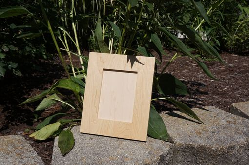 Custom Made Solid Maple 5x7 Picture Frame